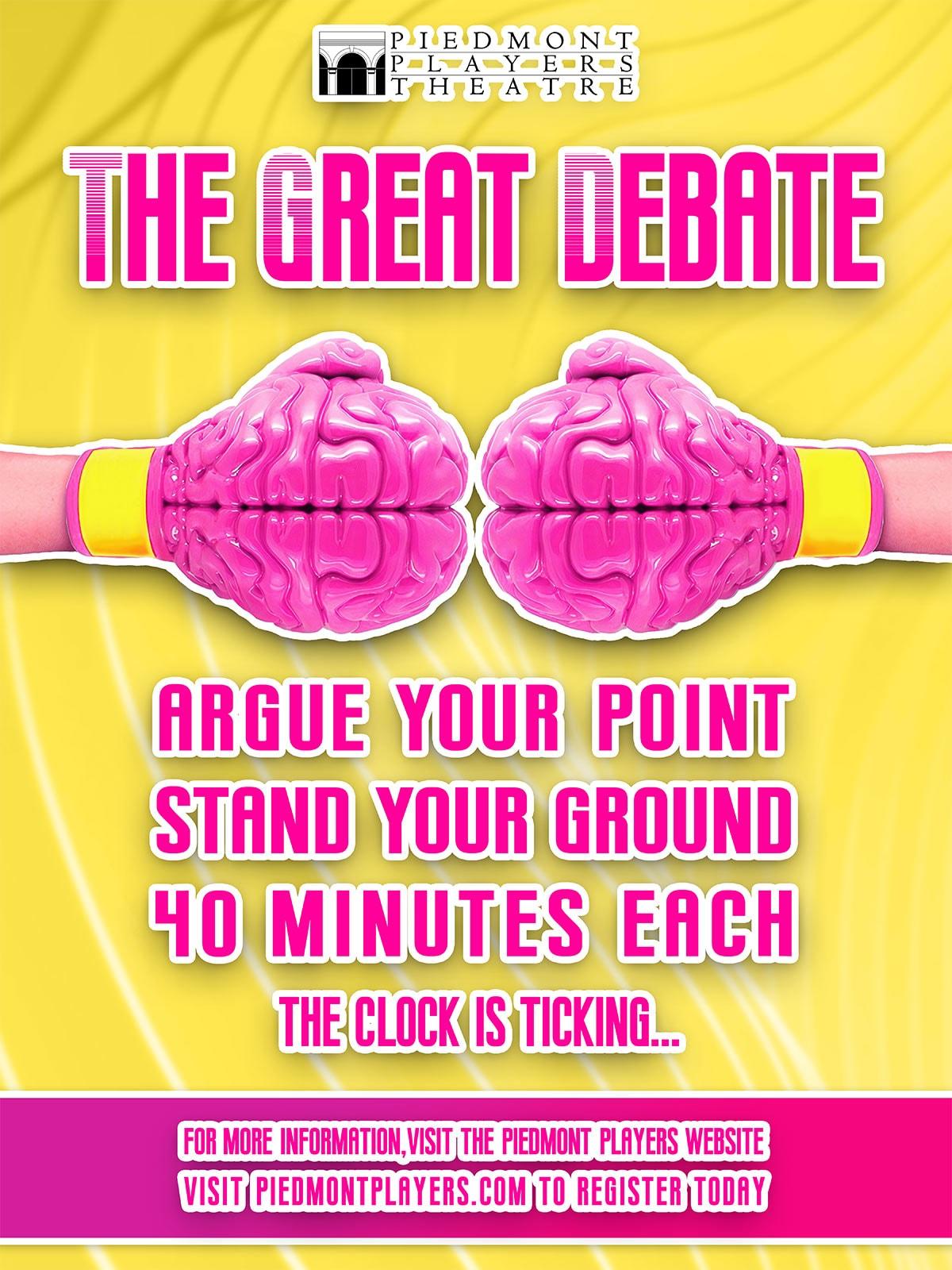 The Great Debate-poster